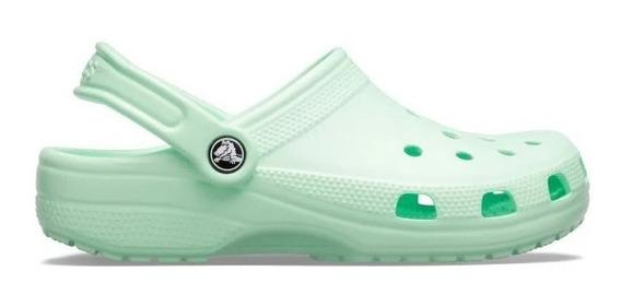 Crocs Originales Classic Neo Mint Mujer Hombre