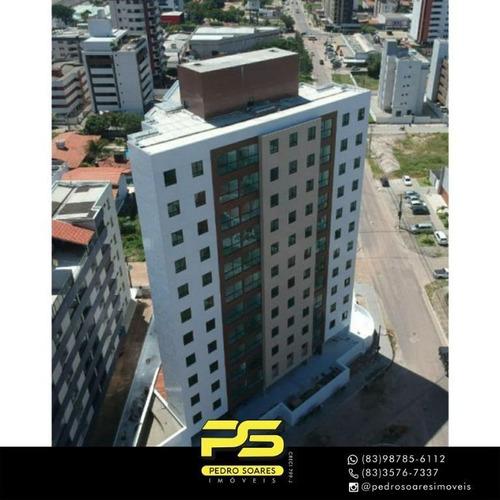Apartamento Com 2 Dormitórios À Venda, 66 M² Por R$ 340.000 - Intermarés - Cabedelo/pb - Ap4474
