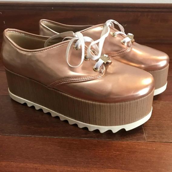 Zapatillas Con Plataforma Mujer!