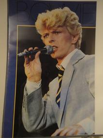 Poster Banda Grupo David Bowie Live Importado Raro 1