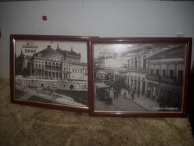 Kitsc/ 2 Guadro Foto Antiga Sao Paulo /1911/1901 ;;raridade