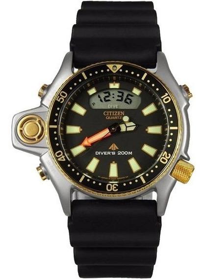 Relógio Citizen Aqualand Série Ouro Jp2004-07e | Tz10137p