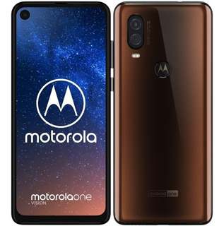 Tapa Trasera Vidrio Repuesto Para Motorola Moto One Vision