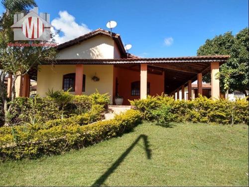 Linda Chácara Com 05 Dormitórios, Pomar, Ótima Casa, Espaço Gourmet À Venda, 1430 M² Por R$ 400.000 - Zona Rural - Pinhalzinho/sp - Ch0497