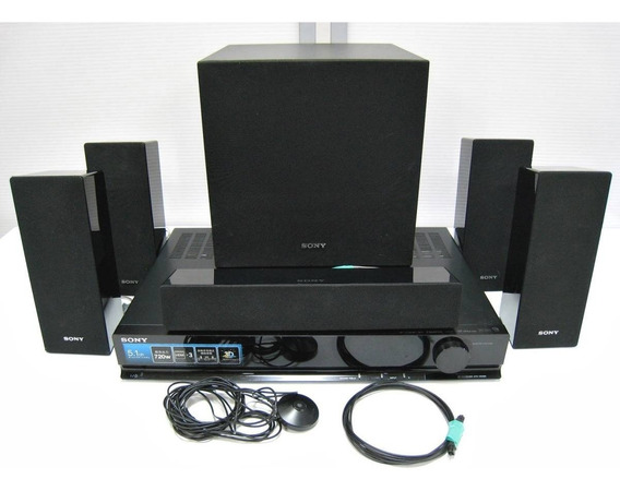 Home Theater 5.1 Sony Receiver 1000w Rms