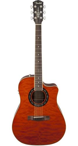 Guitarra Electro Acústica Fender T-bucket 300ce Ambar