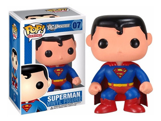 Superman Clásico Dc Universe Figura Vinil 1 Pieza Funko Pop