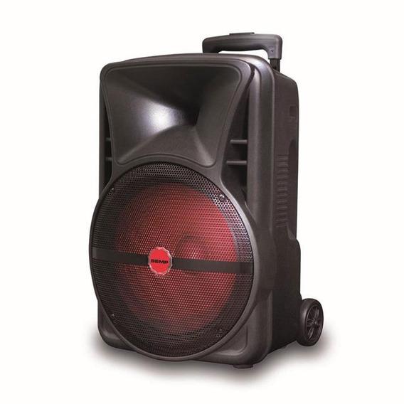 Caixa De Som Semp 200w Bluetooth Bateria Contro Tr200a