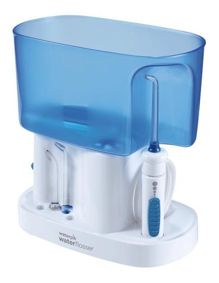 Irrigador Oral Waterpik Wp70b 110v Branco E Azul Com 6 Ajus