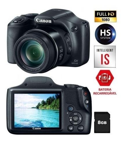 Câmera Digital Canon Powershot Sx520hs