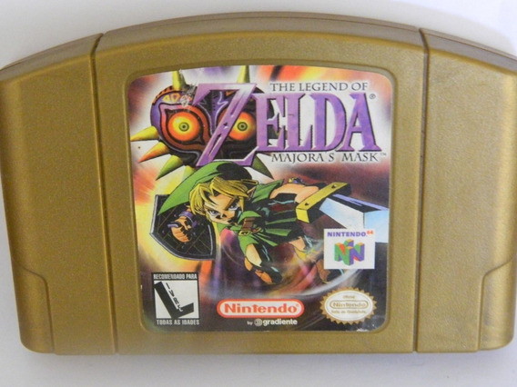 Fita Zelda Majora Mask N64