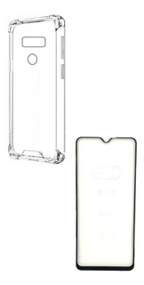Pelicula Vidro + Capa Anti Shock LG K40s Lmx430 Tela 6.1