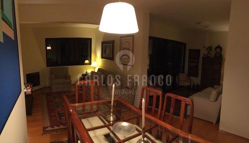 Apartamento  3 Dormitórios No Campo Belo - Cf19803
