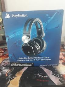 Fone Headset Sony Pulse Elite 7.1 -Sony Playstation;