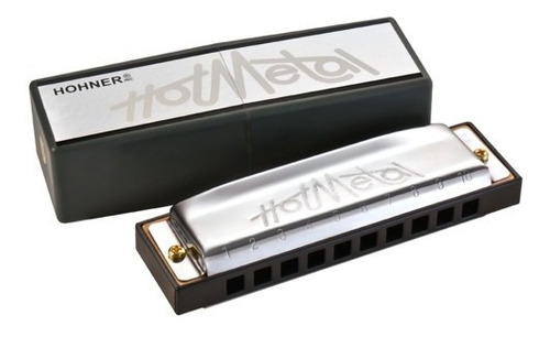 Armónica Diatonica Hohner Hot Metal Consultar Tonalidad