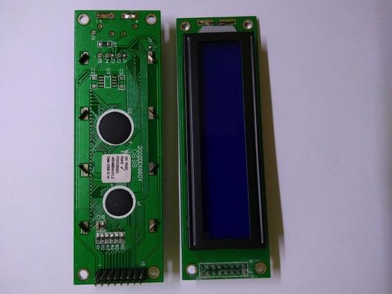 Display Lcd 20x2 C/blacklight Azul