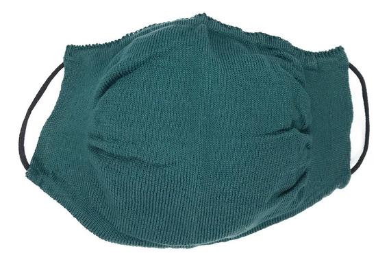 Barbijo Tejidos Tapa Cubre Boca Reutilizable Lavable Liso