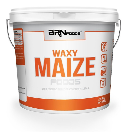 Waxy Maize Natural Balde De 4kg Brn Foods