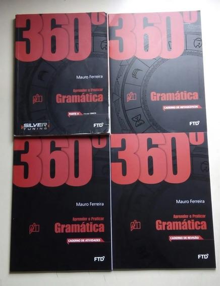 Livro 360º Gramática - Editora Ftd -2015 B606