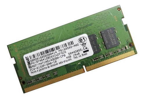 Memoria Smart 8gb Ddr4 Pc4 2400t Sf4641g8ck8iwgkseg