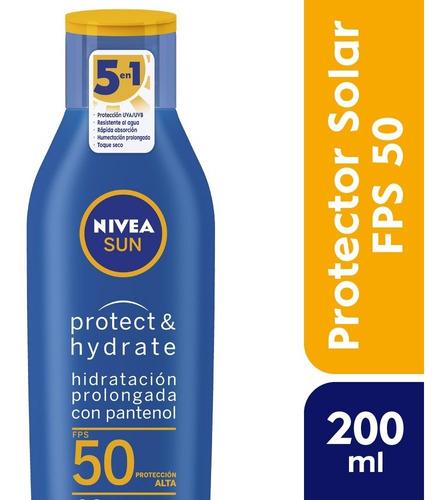 Nivea Sun Loción Hidratante Fps 50