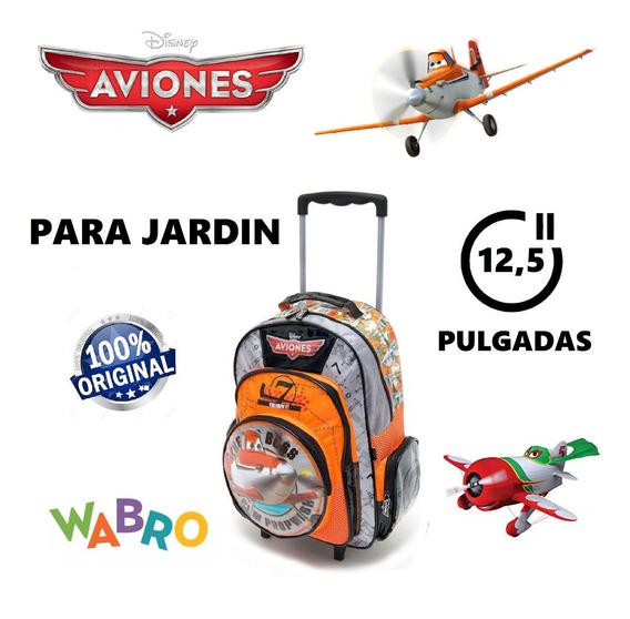 Mochila Carrito Disney Aviones 12 Pulgadas Wabro Para Jardín