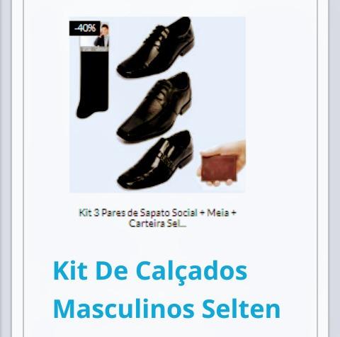 Kit Calçados Masculinos Seiten