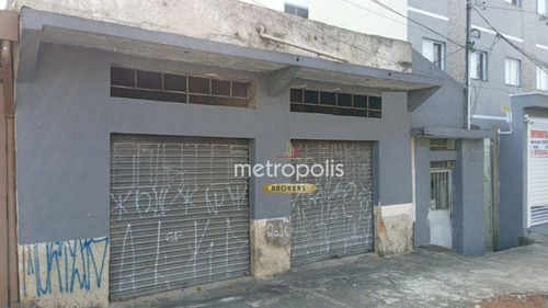 Terreno À Venda, 240 M² Por R$ 458.000,00 - Vila Camilópolis - Santo André/sp - Te0323