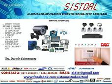 Alarmas Cctv Cercos Electricos Monitoreo Venta Mantenimiento