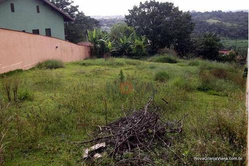 Imagem 1 de 5 de Terreno Residencial À Venda, Chácara Vale Do Rio Cotia, Carapicuíba - Te0395. - Te0395