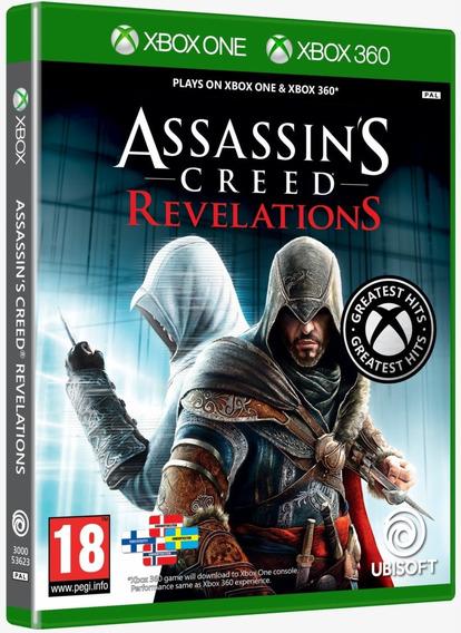 Jogo Assassins Creed Revelations Xbox One 360 Midia Fisica