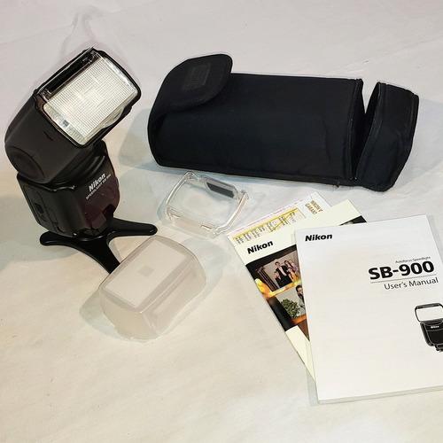 Flash Nikon Sb900. Como Nuevo!