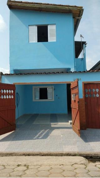 Casa A Venda No Bairro Agenor De Campos Em Mongaguá - Sp. - 281-1