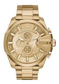 Reloj Diesel Dorado Dz4360 Original Para Hombre