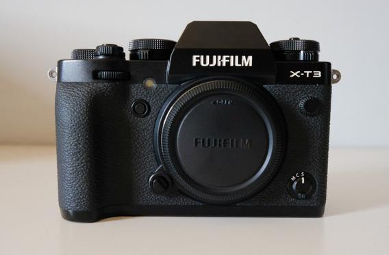 Câmera Digital Fujifilm X-t3 (corpo) Preta