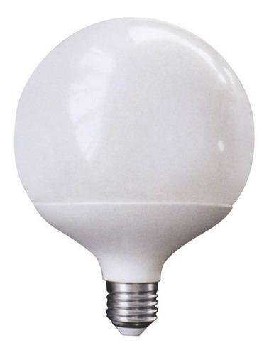 Lampara Globo Led 18w 4000k E27 Diam120mm Luz Neutra Opal