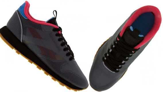 Tênis Sapato Masculino Reebok Preto Cl Leather Nu Original
