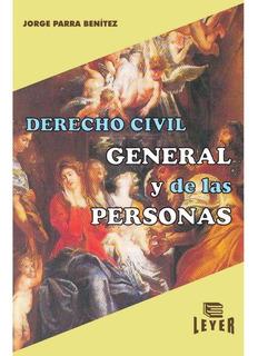 Derecho Civil General Y De Las Personas Libros Recomendados