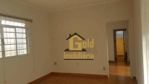 Casa Com 3 Dormitórios, 1 Suite, Armários E Ar-condicionado No Bairro Palma Travassos - Ribeirão Preto-s.p. - Ca0949