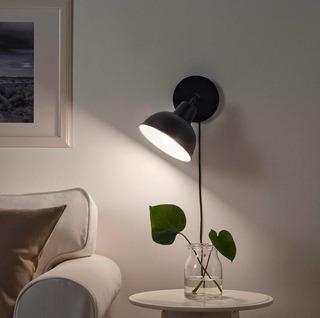 Lámpara De Pared Led Lámpara De Mesa Led Color Negro