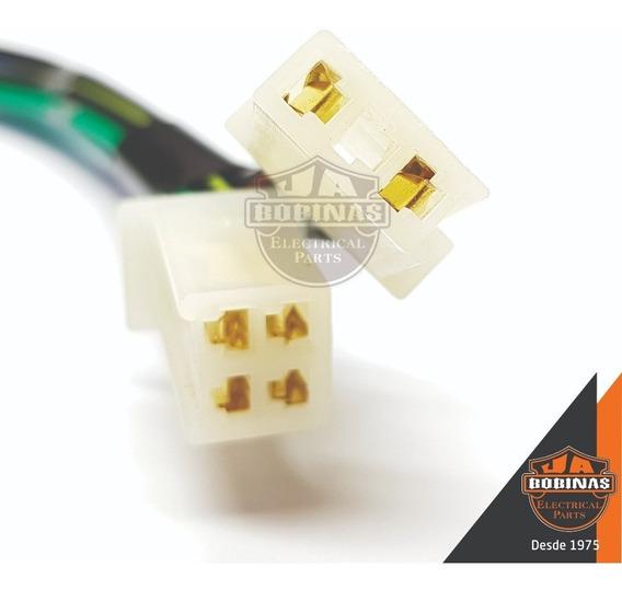 Conector Plug Terminal P/ Cdi C/ Fios Green 150 Sport Novo