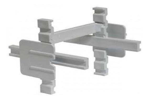 Separadores 1cm Para Ladrillos De Vidrio