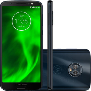 Motorola Moto G6 And8.0 Tela 5.7 C 12mp 4gb Ram 64gb Brindes