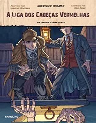 Sherlock Holmes A Liga Dos Cabeças Vermelhas Hq