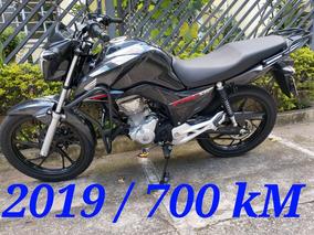 Honda Fan 160 2019 700km 2019 Troco Moto