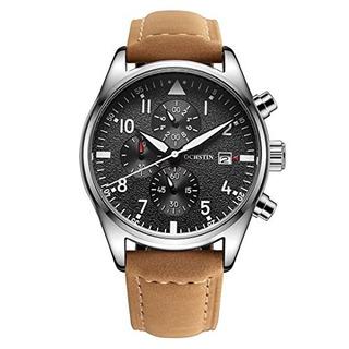 Ochstin Reloj De Cuarzo Reloj Cronografo Fecha Reloj Con Cor