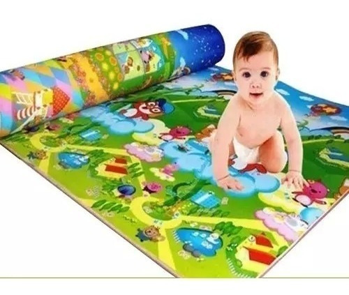 Tapete Térmico Atividades Bebe Infantil Portátil Conforto
