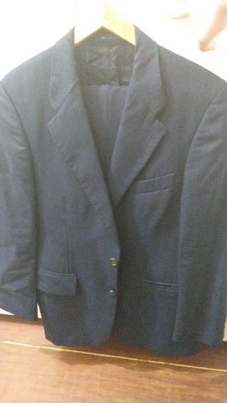 Terno Chaps Ralph Lauren Azul Marinho Tamanho 48
