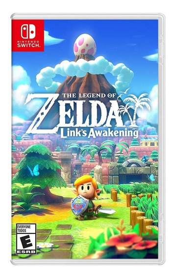 The Legend Of Zelda Links Awakening (m Física) Switch Novo