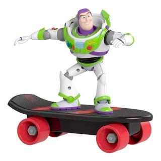 Buzz Lightyear Toy Story 4 Muñeco Con Patineta A Friccion